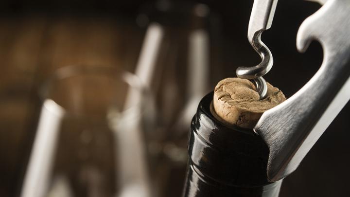 La influencia del corcho para el vino