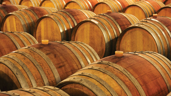 Elaboración de las barrica para el vino